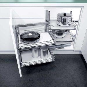 Cocinas Modernas - Accesorios - Esquina Magica - Milestone