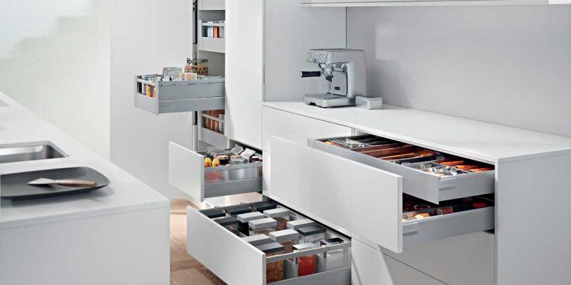 Cocinas Modernas - Equipamiento - Almacenamiento - Milestone